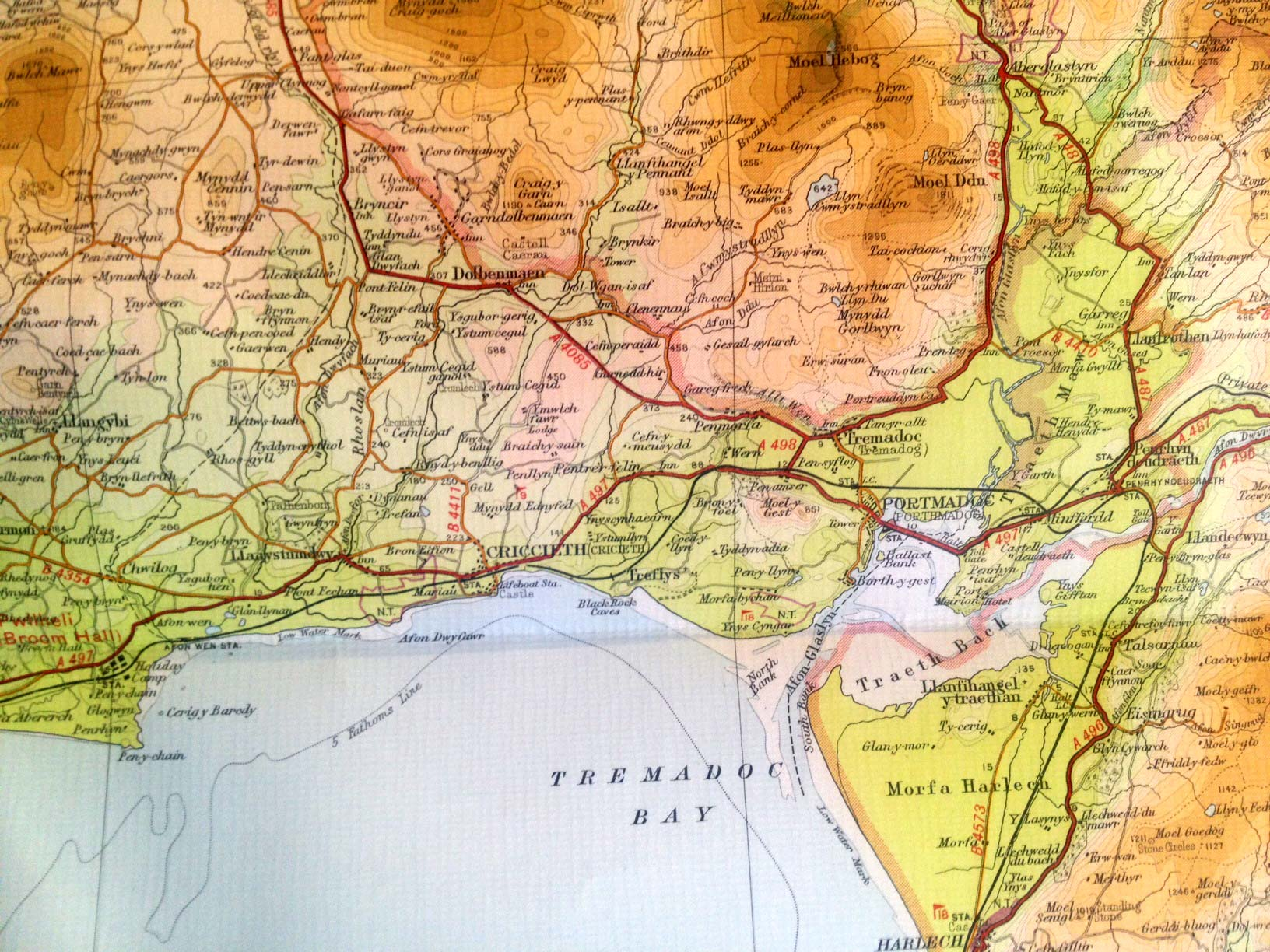 Wales-map-detail