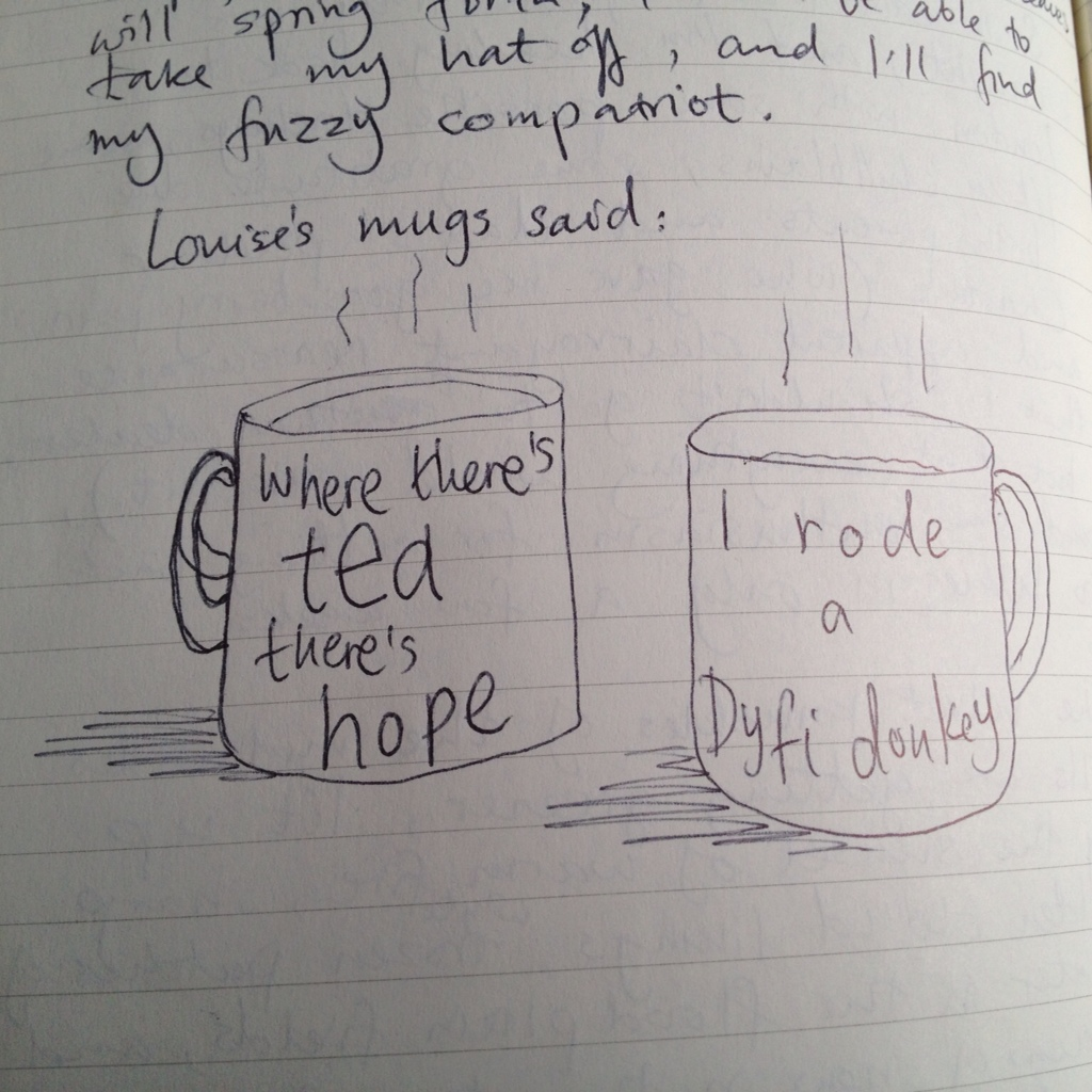Optimistic mugs