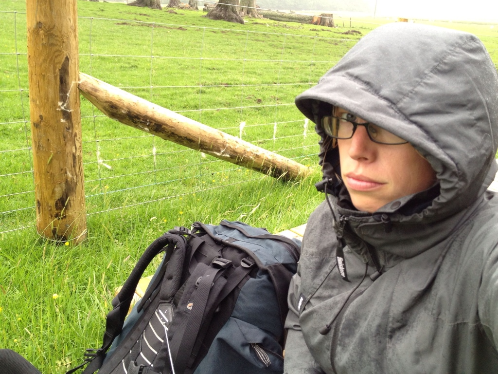 Solo, slow and sitting in the rain